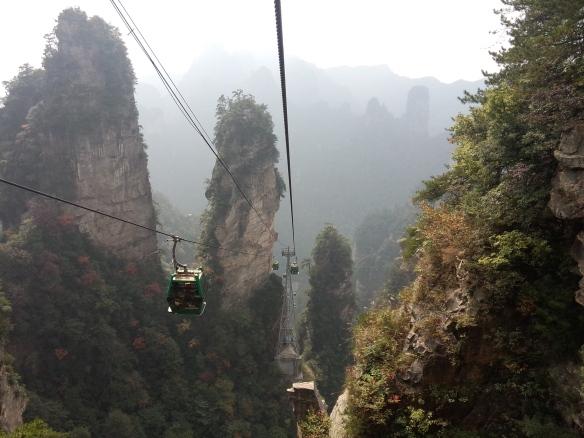 Zhangjiajie, Hunan map